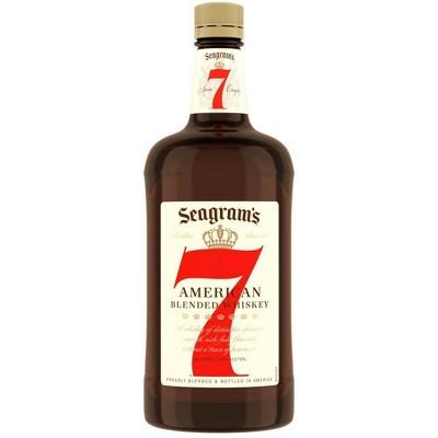 Seagram's 7 Crown American Whiskey - 1.75L Bottle
