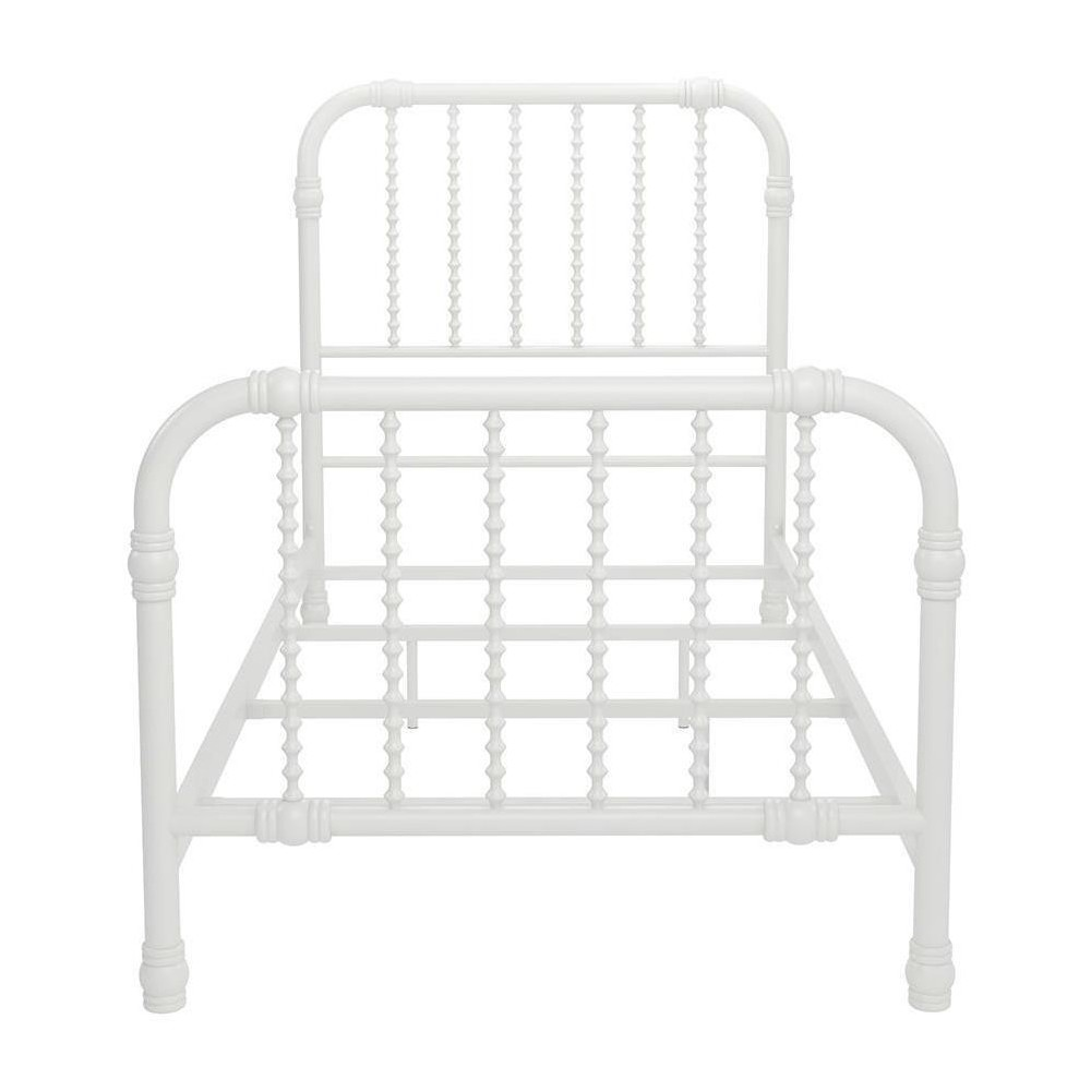 Image of Bed Frame Full White - Little Seeds