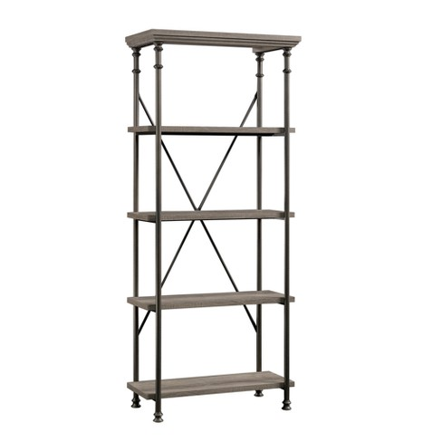 "70"" Canal Street 5 Shelf Bookcase Northern Oak Finish - Sauder - image 1 of 4"