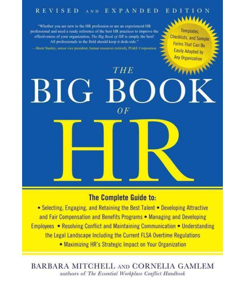 Big Book of HR -  by Barbara Mitchell & Cornelia Gamlem (Paperback) - image 1 of 1