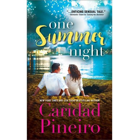 One Summer Night -  (At the Shore) by Caridad Pineiro (Paperback) - image 1 of 1