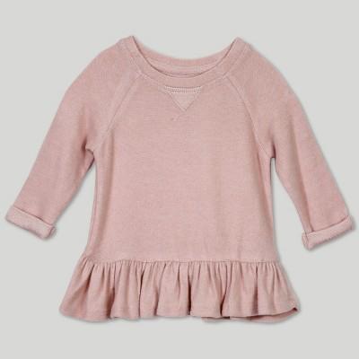 Afton Street Baby Girls' Sweatshirt - Pink 0-3M