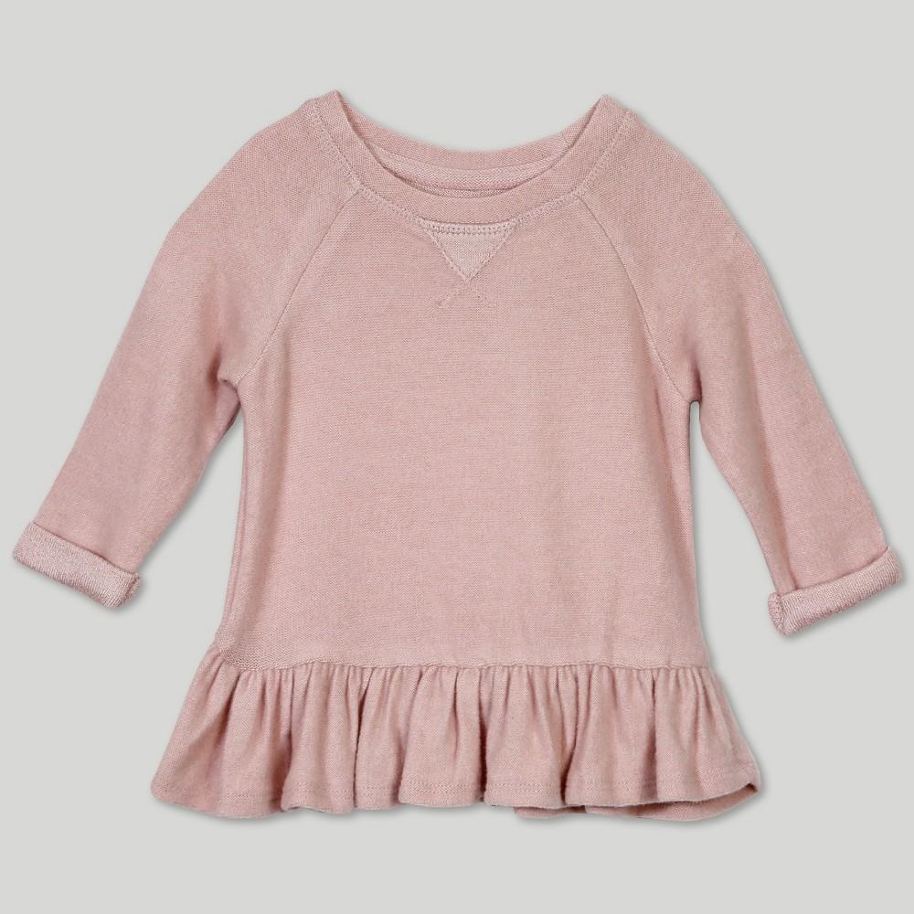 Afton Street Baby Girls' Sweatshirt - Pink 18M