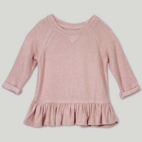 9981848ba583 Afton Street Baby Girls  Sweatshirt - Pink   Target