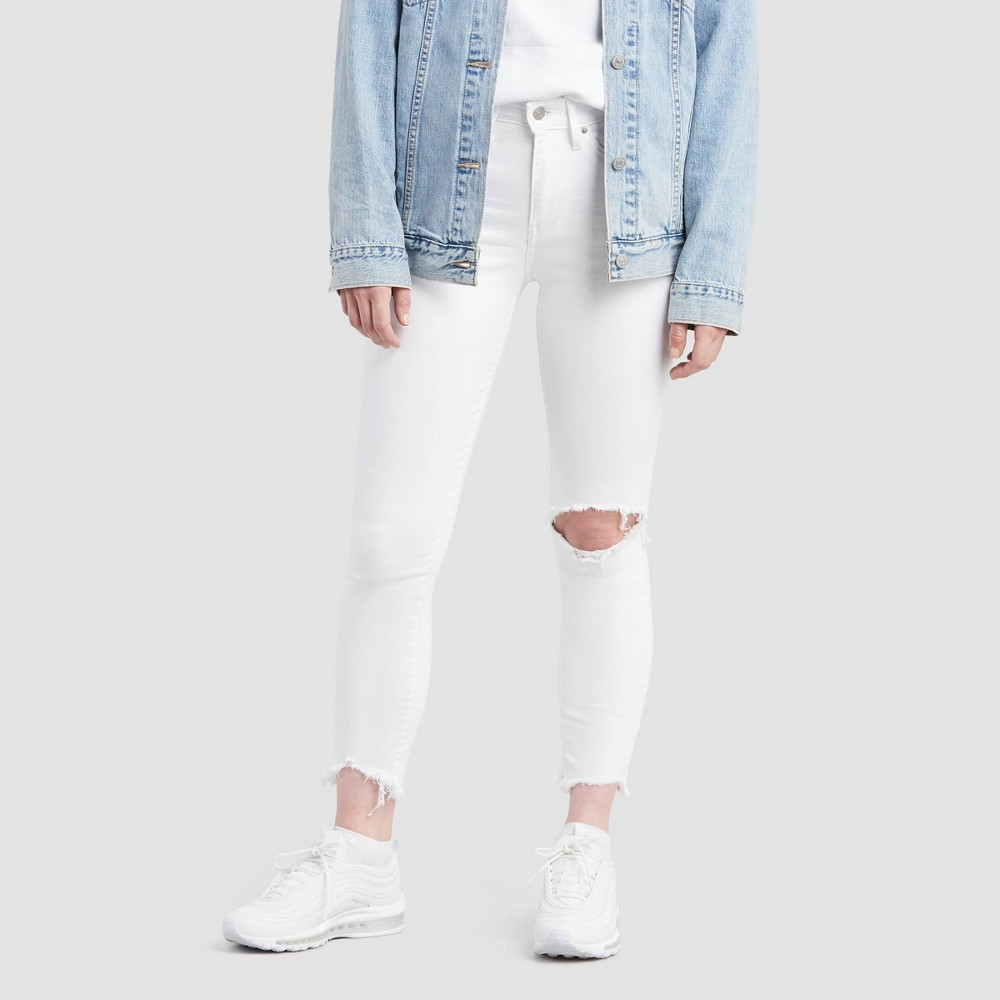Levi 39 S 174 Women 39 S 721 8482 High Rise Skinny Jeans Iced Out 26