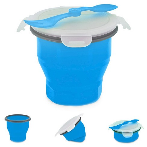 SmartPlanet Collapsible Blue Soup Bowl Kit 26 oz - image 1 of 1