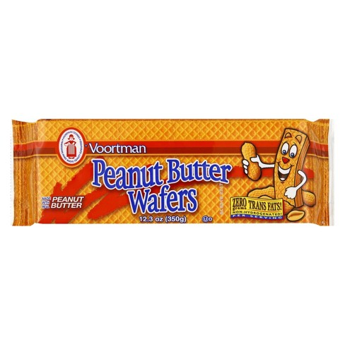 Voortman Peanut Butter Wafers - 12.3oz - image 1 of 3