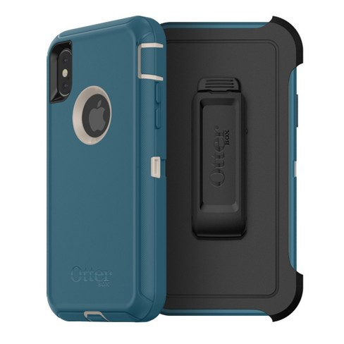 OtterBox iPhone X Case Defender - Big Sur - image 1 of 9