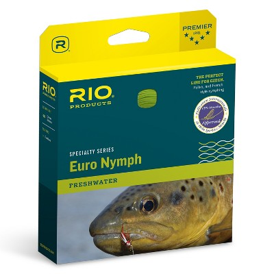 RIO Fly Fishing 80 Foot FIPS Competition Legal Tapered Ultra Thin High Visibility One Size Fits All European Nymph Line, Freshwater