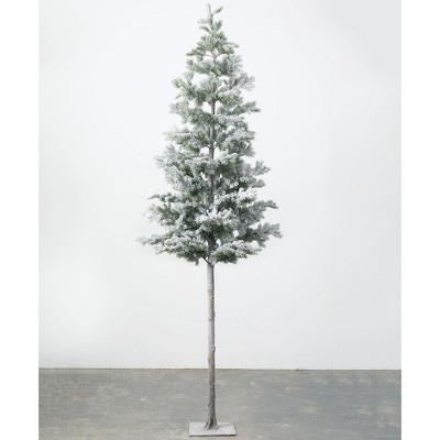 "Sullivans Artificial Iced Tree 36""H Green"