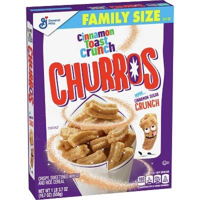 Cinnamon Toast Crunch Churros Breakfast Cereal - 19.7oz