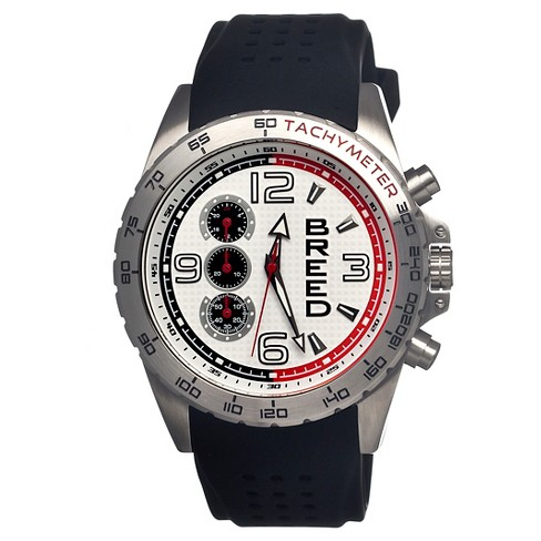 Men's Breed Touring Watch with Silicone Strap - image 1 of 3