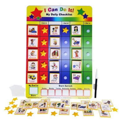 "Kenson Parenting Solutions ""I Can Do It!"" My Daily Checklist"