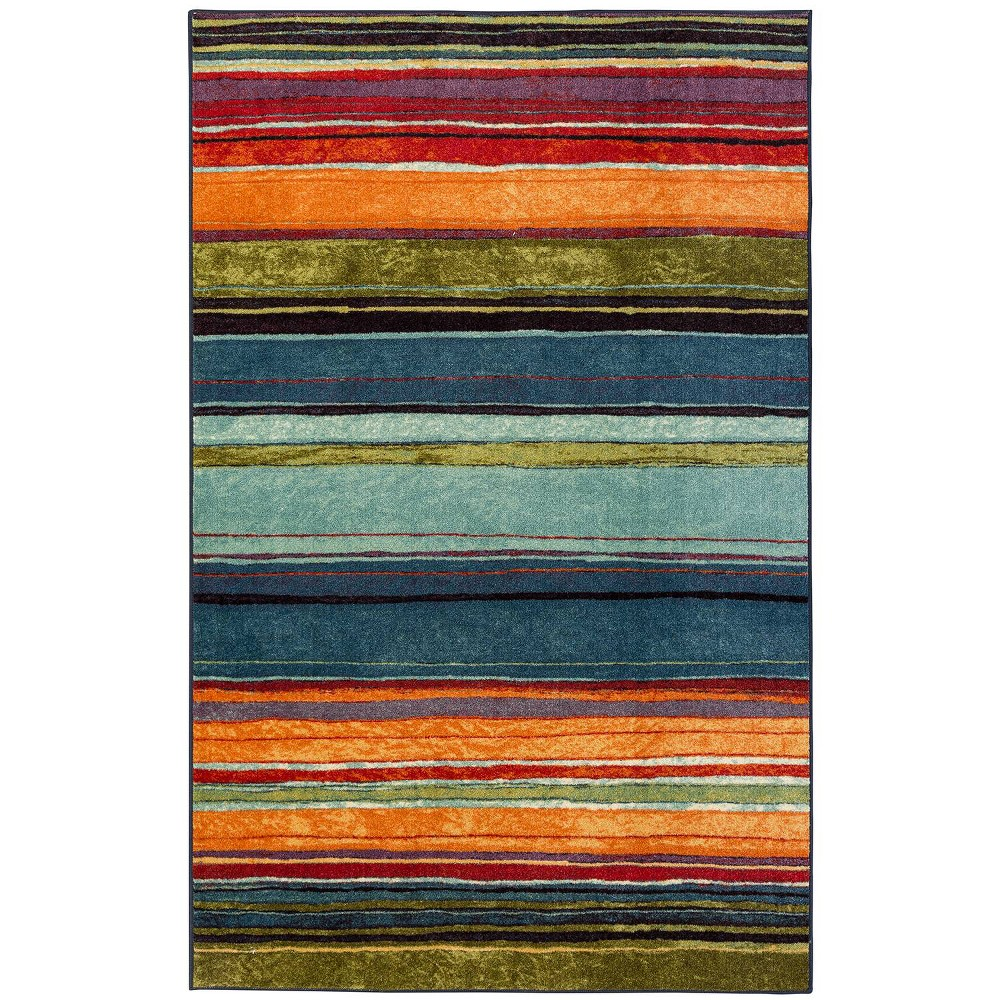Image of 5'X8' Striped Area Rug - Mohawk, Size: 5'X8'