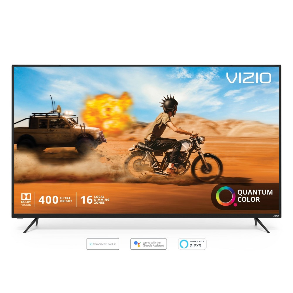 Vizio M-Series Quantum 55  Class (54.5  diag.) 4K Hdr Smart TV Experience a world of extraordinary color with the all-new Vizio M-Series Quantum 55  Class (54.5  diag.) 4K Hdr Smart TV, featuring VIZIO's cutting-edge Quantum Color and award-winning SmartCast 3.0.