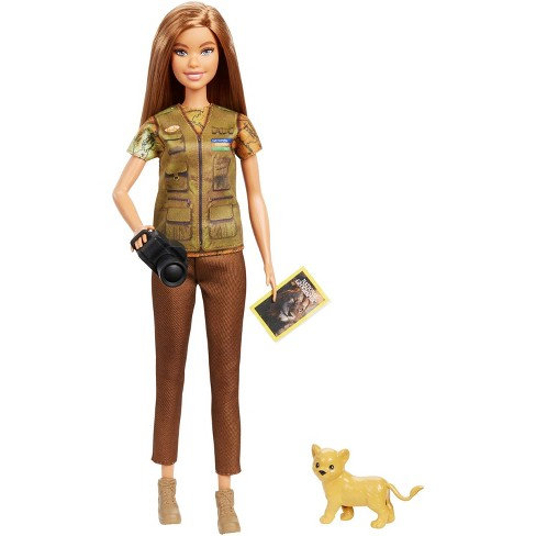 Barbie National Geographic Photographer Playset - image 1 of 4