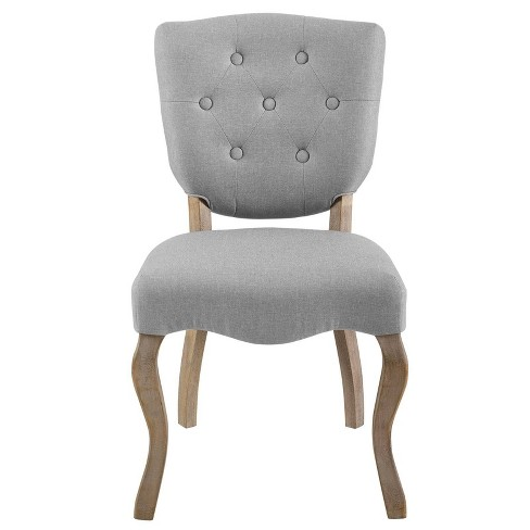 Array Vintage French Upholstered Dining Side Chair - Modway - image 1 of 5
