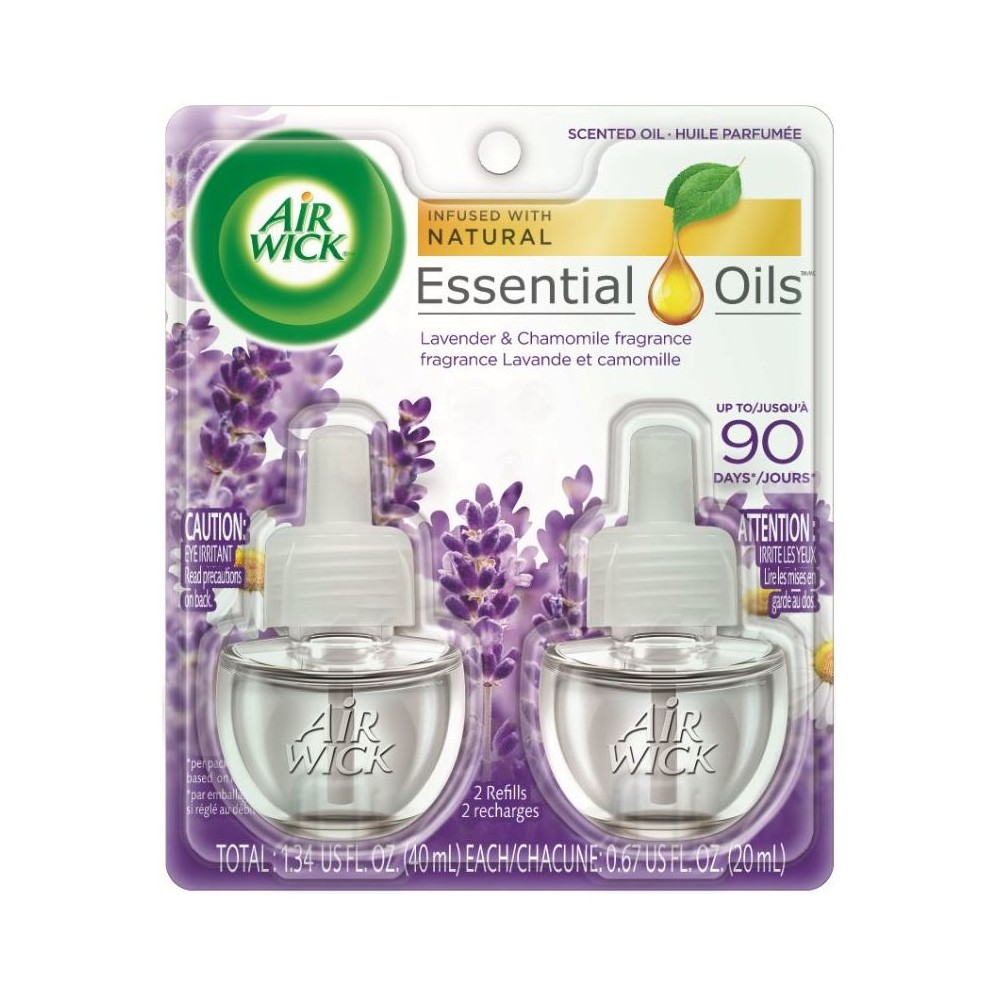 Air Wick Lavender Scented Oil Refills - 2ct