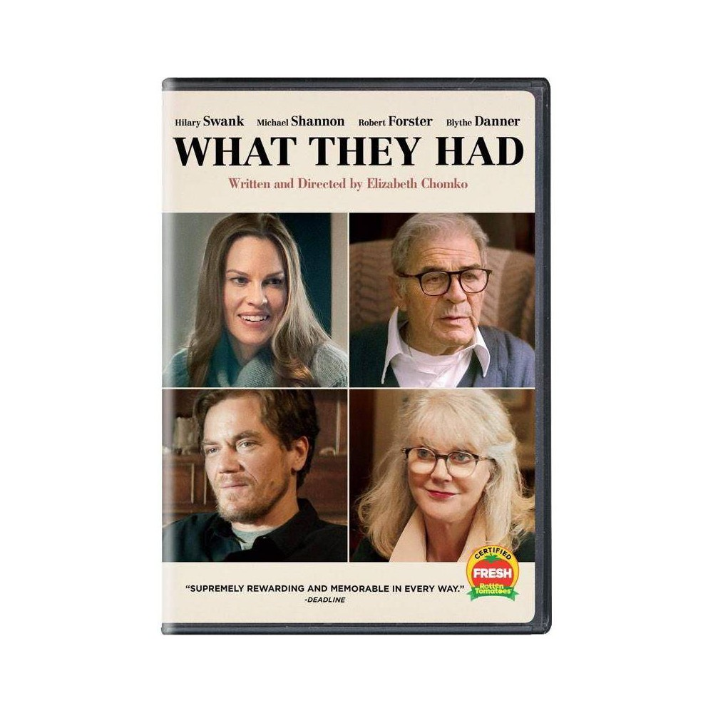 What They Had (DVD) movies Price