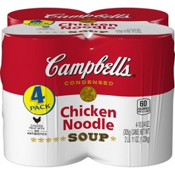 Campbell's® Condensed Chicken Noodle Soup 10.75 oz (Pack of 4)