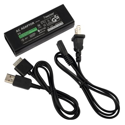 INSTEN AC Power Adapter compatible with Sony PSP Go, Black