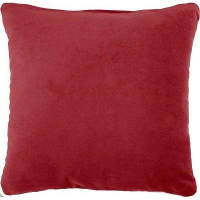 Solid Velvet Square Throw Pillow - Nourison
