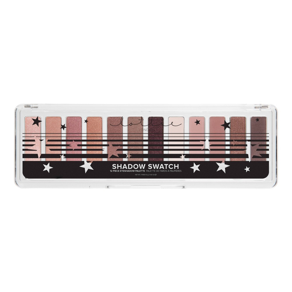 Lottie London Shadow Swatch The Rose Golds - 12g, Multi-Colored