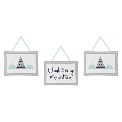Sweet Jojo Designs Wall Hangings - Mountains