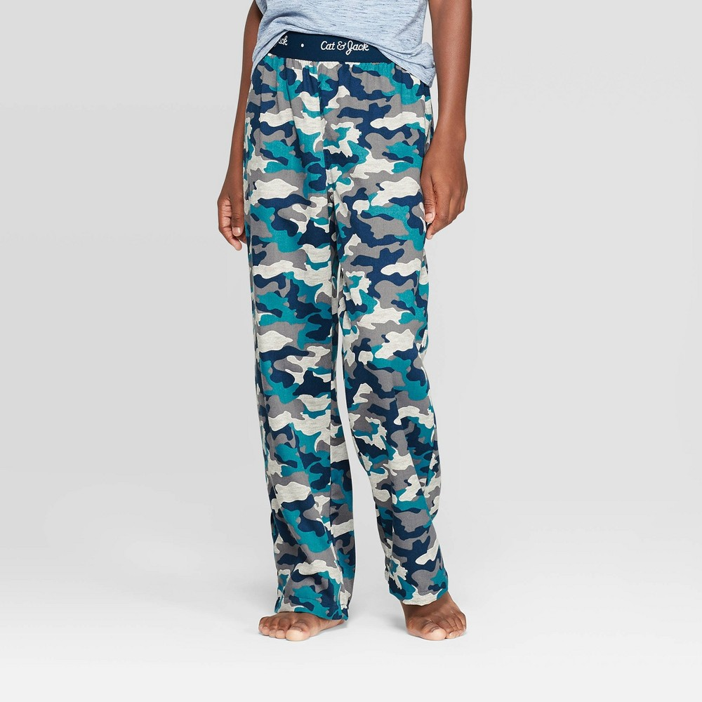 Image of Boys' Pajama Pants - Cat & Jack Gray S, Boy's, Size: Small