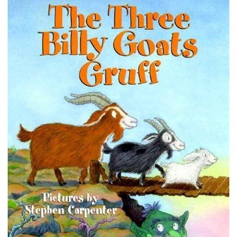 The Three Billy Goats Gruff - by  Public Domain (Hardcover) - image 1 of 1