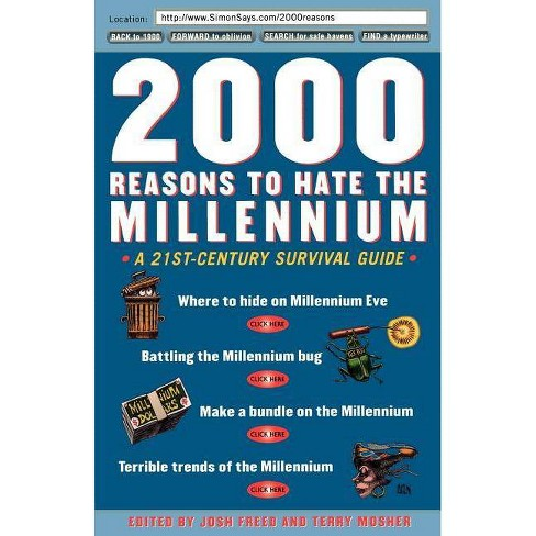 2000 Reasons to Hate the Millennium - by  Terry Mosher (Paperback) - image 1 of 1