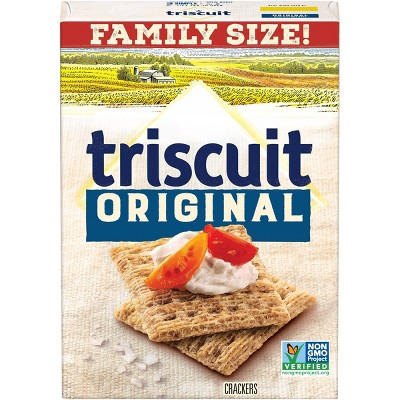 Triscuit Original Crackers - Family Size - 12.5oz