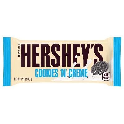 Hershey's Cookies 'N' Creme Candy Bar - 1.55oz