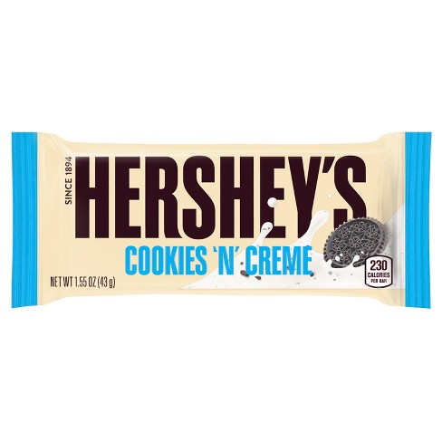 Hershey's Cookies 'N' Creme Candy Bar - 1.55oz - image 1 of 4