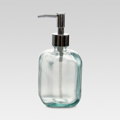 Recycled Glass Soap Dispenser Clear - Threshold™