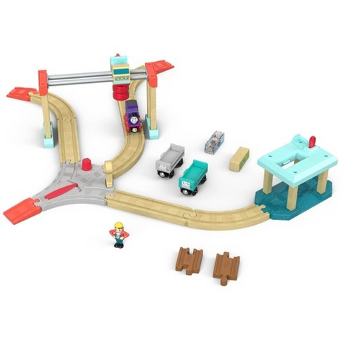 Thomas & Friends Wood Lift & Load Cargo Set - image 1 of 4