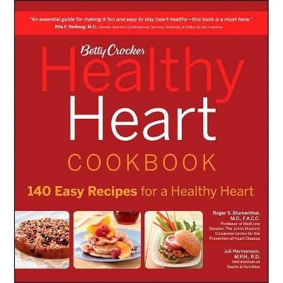 Betty Crocker Healthy Heart Cookbook - (Betty Crocker Cooking) (Paperback)