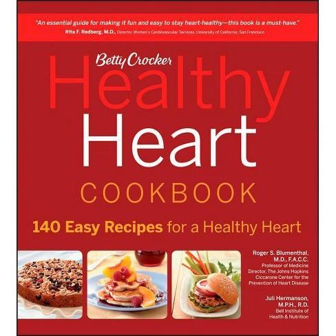 Betty Crocker Healthy Heart Cookbook - (Betty Crocker Books) (Paperback) - image 1 of 1
