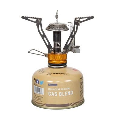 Stansport Portable Single Burner Butane Stove With Fuel