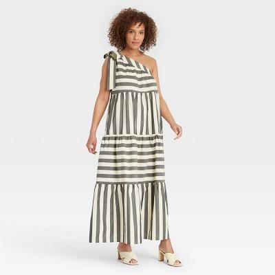 Women's One Shoulder Sleeveless Dress - Who What Wear™