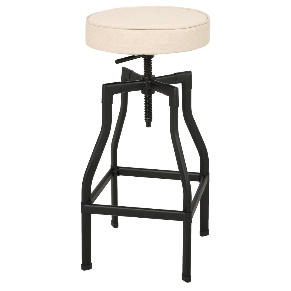 Revolution Adjustable Barstool Beige - Christopher Knight Home