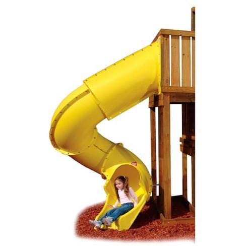 Swing N Slide Turbo Tube Slide Yellow Target