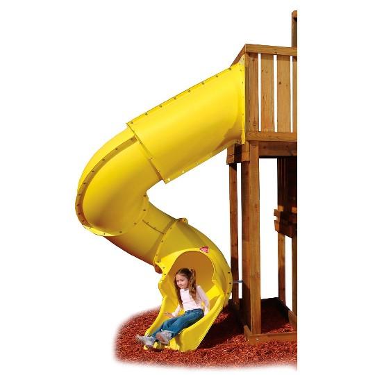 Swing-N-Slide Turbo Tube Slide - Yellow image number null