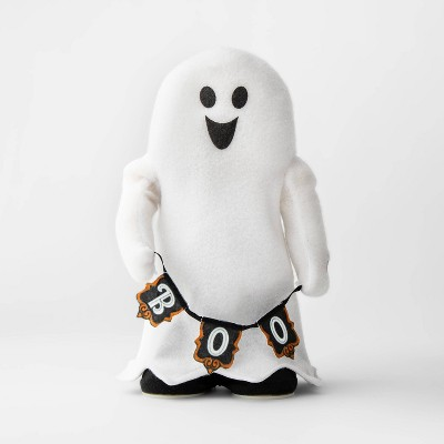 Animated Flossing Ghost Plush Halloween Décor - Hyde & EEK! Boutique™