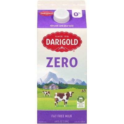 Darigold Zero Skim Milk - 0.5gal