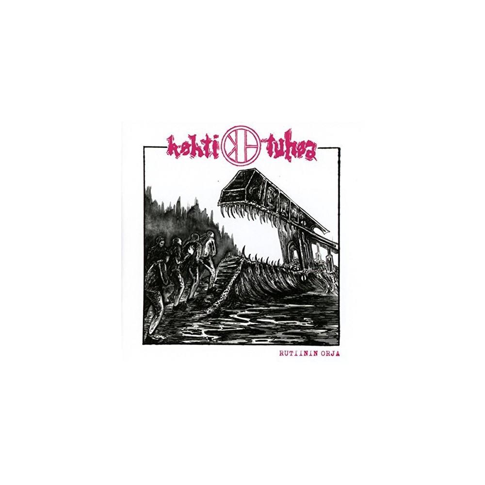 Kohti Tuhoa - Rutiinin Orja (CD)