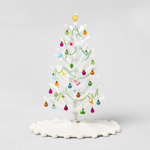 Christmas Ornament Set.Tropical Mini Tree Trim Kit Christmas Ornament Set Wondershop