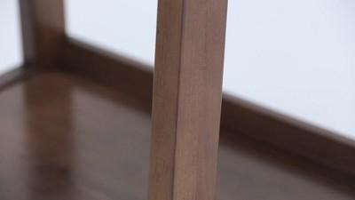 "72""x24"" Hawkins Solid Wood Ladder Shelf With Storage - Wyndenhall : Target"