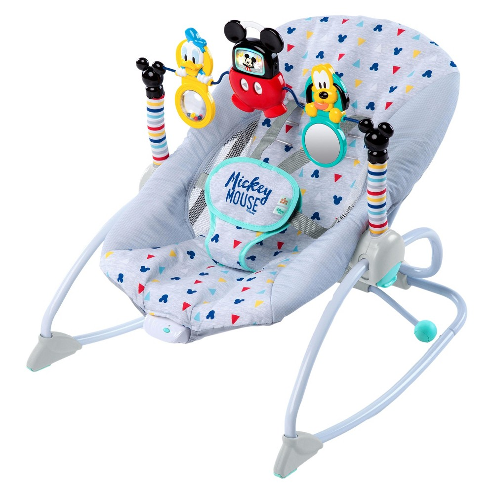 Image of Disney Baby Mickey Mouse Take-Along Songs Infant to Toddler Rocker