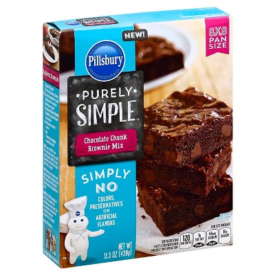 Baking Mixes: Pillsbury Purely Simple Brownie Mix